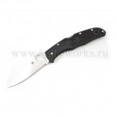 Spyderco Endura 4 Flat Ground Blk