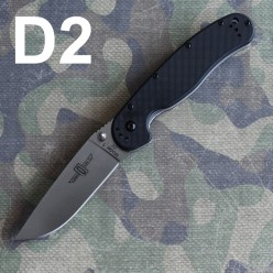Ontario RAT Folder Model 1 D2 черная рукоять