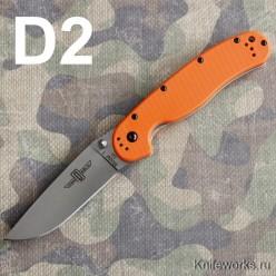 Ontario RAT Folder Model 1 D2 оранжевая рукоять