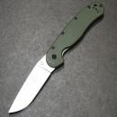 Ontario RAT Folder Model 1 зелёная рукоять, матовый клинок