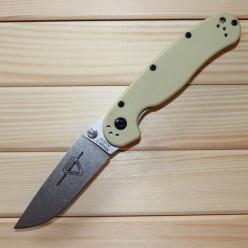 Ontario RAT Folder Model 2 белая рукоять, матовый клинок
